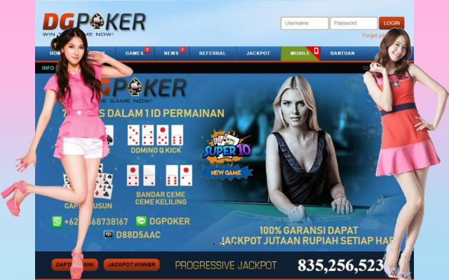 DGpoker Situs Bandar Ceme Poker Domino Online Indonesia Terpercaya